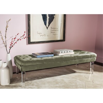 Rene Bench Color: Gray