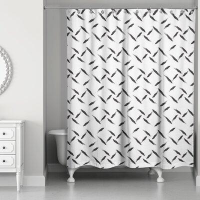 Norrell Diamond Plate Shower Curtain