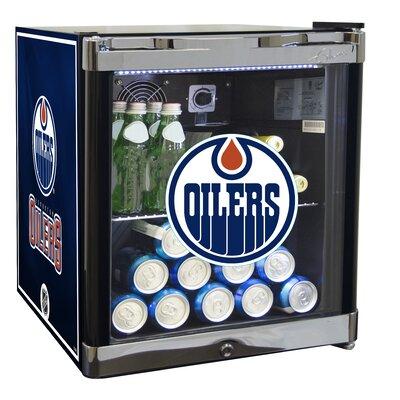 NHL 1.8 cu. ft. Beverage Center NHL Team: Edmonton Oilers