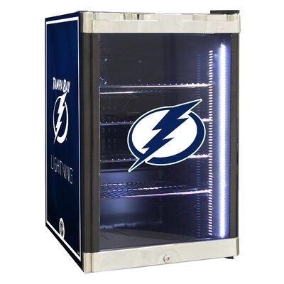 NHL 2.5 cu. ft. Beverage Center NHL Team: Tampa Bay Lighting