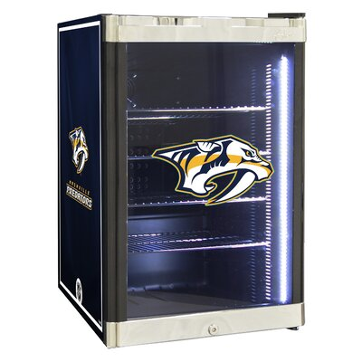 NHL 2.5 cu. ft. Beverage Center NHL Team: Nashville Predators