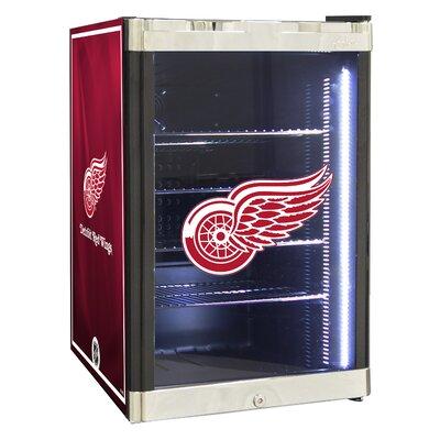 NHL 2.5 cu. ft. Beverage Center NHL Team: Detroit Red Wings