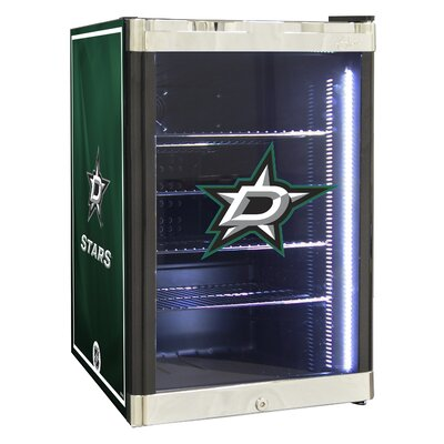 NHL 2.5 cu. ft. Beverage Center NHL Team: Dallas Stars