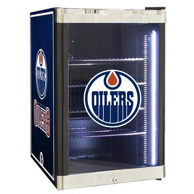 NHL 2.5 cu. ft. Beverage Center NHL Team: Edmonton Oilers