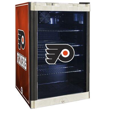 NHL 4.6 cu. ft. Beverage Center NHL Team: Philadelphia Flyers