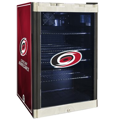 NHL 4.6 cu. ft. Beverage Center NHL Team: Carolina Hurricanes