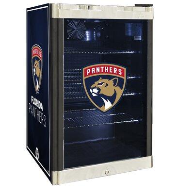 NHL 4.6 cu. ft. Beverage Center NHL Team: Florida Panthers