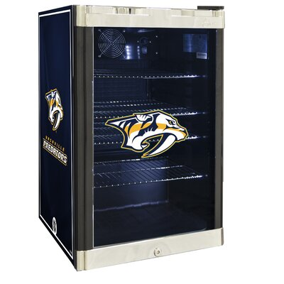 NHL 4.6 cu. ft. Beverage Center NHL Team: Nashville Predators