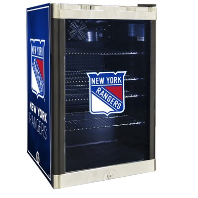 NHL 4.6 cu. ft. Beverage Center NHL Team: New York Rangers