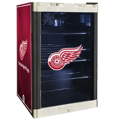 NHL 4.6 cu. ft. Beverage Center NHL Team: Detroit Red Wings