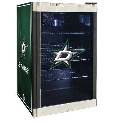 NHL 4.6 cu. ft. Beverage Center NHL Team: Dallas Stars