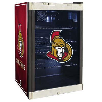 NHL 4.6 cu. ft. Beverage Center NHL Team: Ottawa Senators