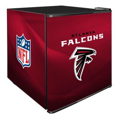 NFL 1.8 cu. ft. Compact Refrigerator NFL Team: Arizona Cardinals