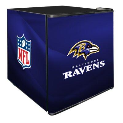 NFL 1.8 cu. ft. Compact Refrigerator NFL Team: Baltimore Ravens