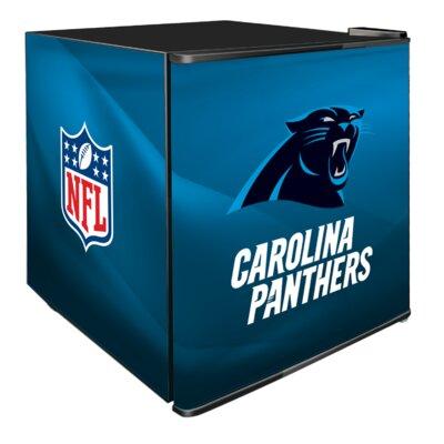 NFL 1.8 cu. ft. Compact Refrigerator NFL Team: Carolina Panthers