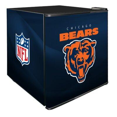 NFL 1.8 cu. ft. Compact Refrigerator NFL Team: Chicago Bears