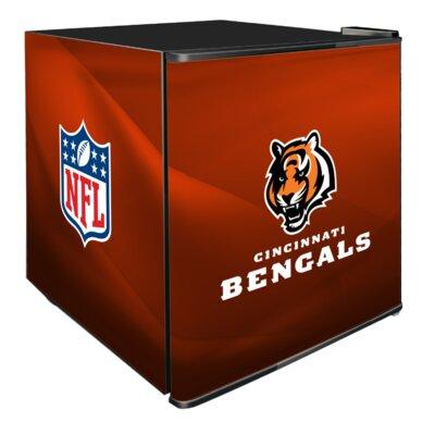 NFL 1.8 cu. ft. Compact Refrigerator NFL Team: Cincinnati Bengals