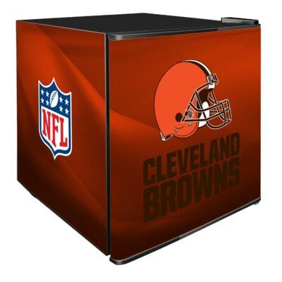 NFL 1.8 cu. ft. Compact Refrigerator NFL Team: Cleveland Browns
