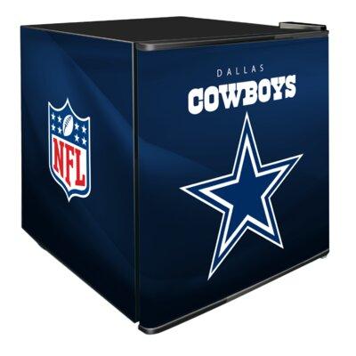 NFL 1.8 cu. ft. Compact Refrigerator NFL Team: Dallas Cowboys