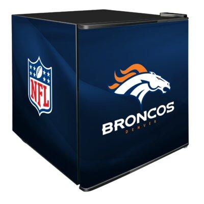 NFL 1.8 cu. ft. Compact Refrigerator NFL Team: Denver Broncos