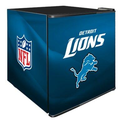 NFL 1.8 cu. ft. Compact Refrigerator NFL Team: Detroit Lions
