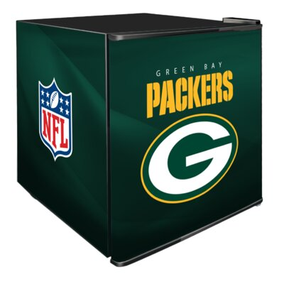 NFL 1.8 cu. ft. Compact Refrigerator NFL Team: Green Bay Packers
