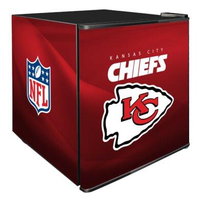NFL 1.8 cu. ft. Compact Refrigerator NFL Team: Kansas City Chiefs