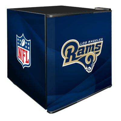 NFL 1.8 cu. ft. Compact Refrigerator NFL Team: Los Angeles Rams