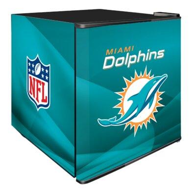 NFL 1.8 cu. ft. Compact Refrigerator NFL Team: Miami Dolphins