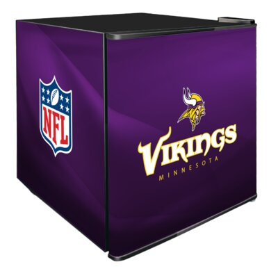 NFL 1.8 cu. ft. Compact Refrigerator NFL Team: Minnesota Vikings