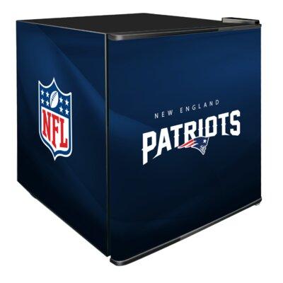 NFL 1.8 cu. ft. Compact Refrigerator NFL Team: New England Patriots