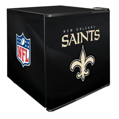 NFL 1.8 cu. ft. Compact Refrigerator NFL Team: New Orleans Saints