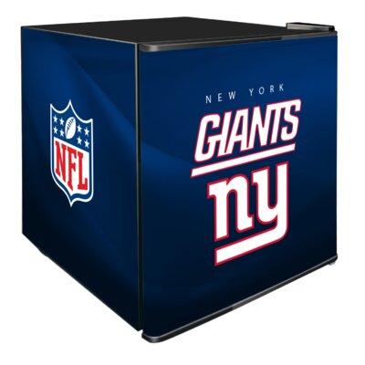 NFL 1.8 cu. ft. Compact Refrigerator NFL Team: New York Giants