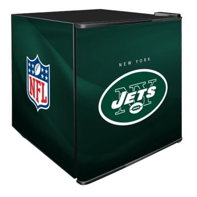 NFL 1.8 cu. ft. Compact Refrigerator NFL Team: New York Jets