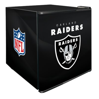 NFL 1.8 cu. ft. Compact Refrigerator NFL Team: Oakland Raiders
