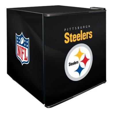 NFL 1.8 cu. ft. Compact Refrigerator NFL Team: Pittsburgh Steelers