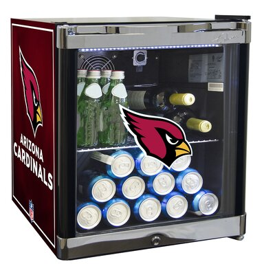 NFL 1.8 cu. ft. Beverage Center NFL Team: Arizona Cardinals