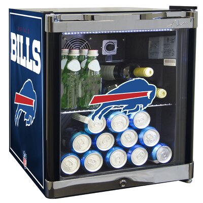 NFL 1.8 cu. ft. Beverage Center NFL Team: Buffallo Bills