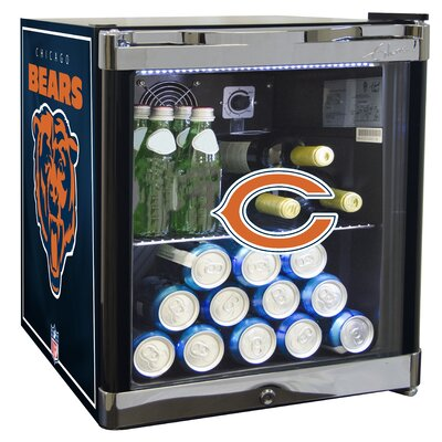 NFL 1.8 cu. ft. Beverage Center NFL Team: Chicago Bears