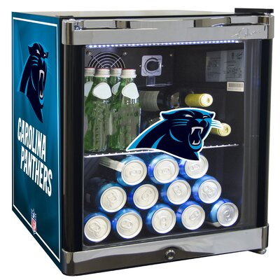 NFL 1.8 cu. ft. Beverage Center NFL Team: Carolina Panthers
