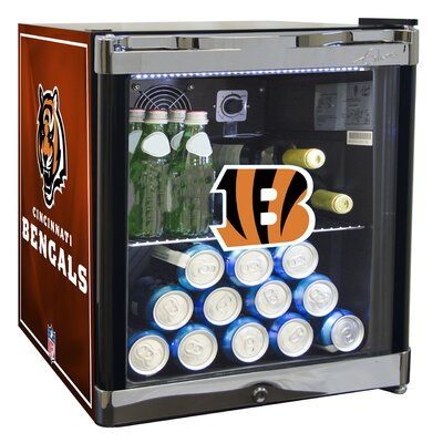 NFL 1.8 cu. ft. Beverage Center NFL Team: Cincinnati Bengals