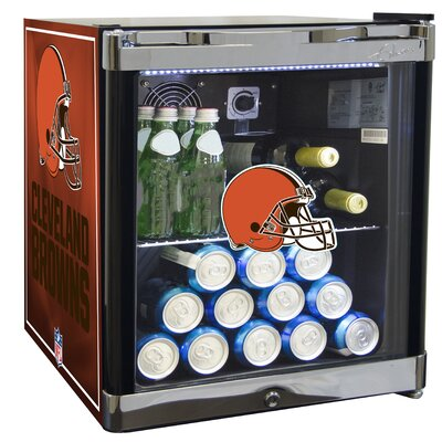 NFL 1.8 cu. ft. Beverage Center NFL Team: Cleveland Browns