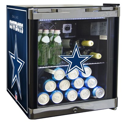 NFL 1.8 cu. ft. Beverage Center NFL Team: Dallas Cowboys