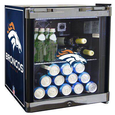 NFL 1.8 cu. ft. Beverage Center NFL Team: Denver Broncos