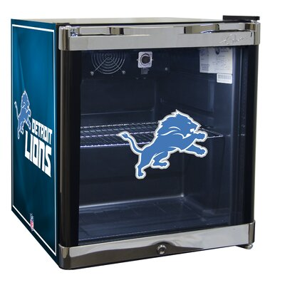 NFL 1.8 cu. ft. Beverage Center NFL Team: Detroit Lions