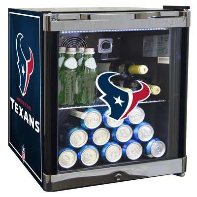 NFL 1.8 cu. ft. Beverage Center NFL Team: Houston Texans