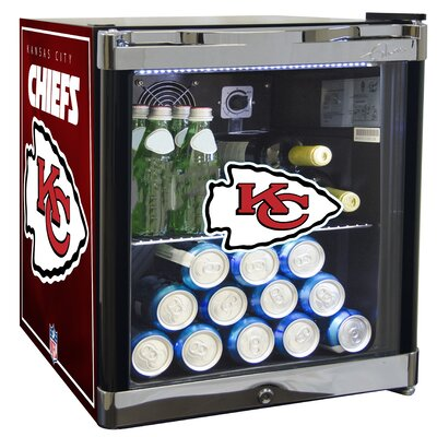 NFL 1.8 cu. ft. Beverage Center NFL Team: Kansas City Chiefs
