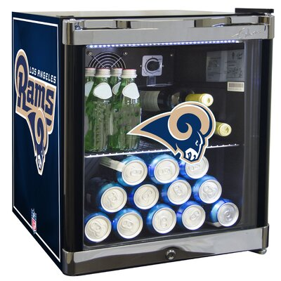 NFL 1.8 cu. ft. Beverage Center NFL Team: Los Angeles Rams