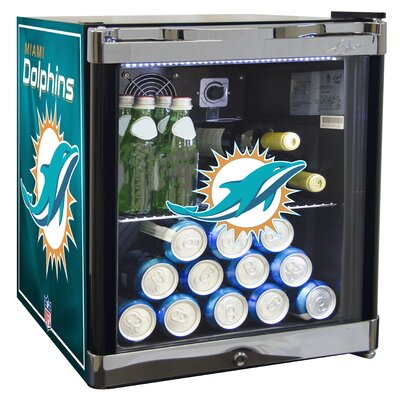NFL 1.8 cu. ft. Beverage Center NFL Team: Miami Dolphins