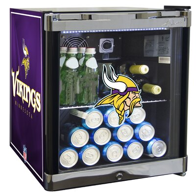 NFL 1.8 cu. ft. Beverage Center NFL Team: Minnesota Vikings